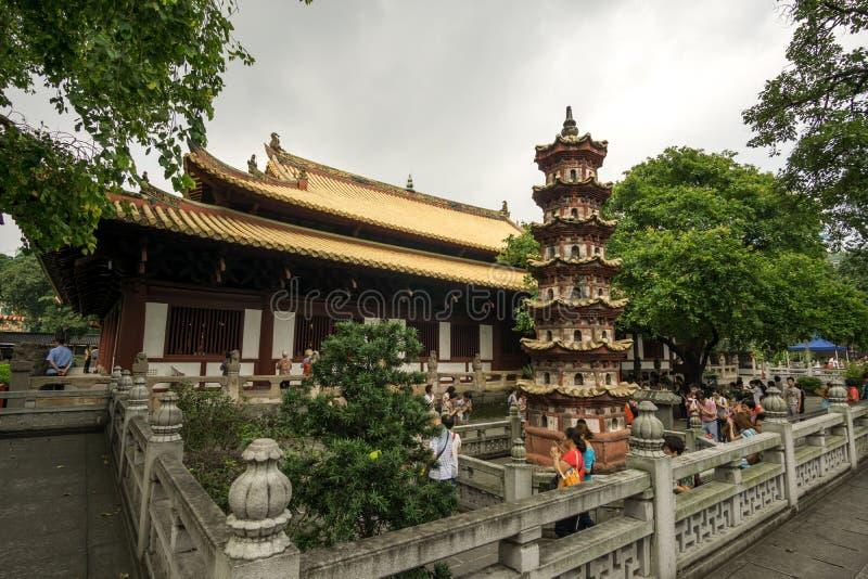 Guangxiaotempel royalty-vrije stock fotografie