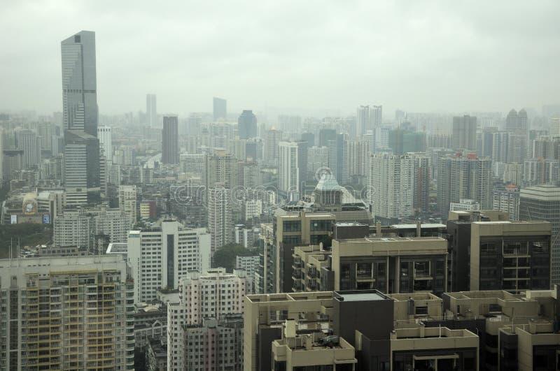 Guangzhou Cina fotografia stock libera da diritti