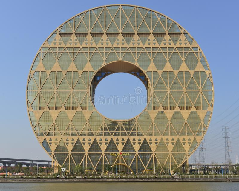 Guangzhou Circle Building Editorial Photo Image Of