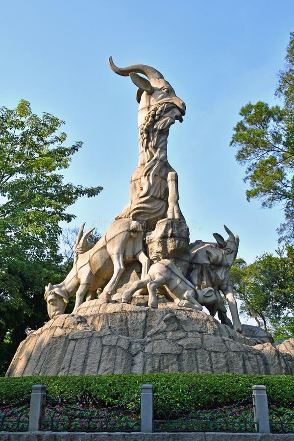 Free Guangzhou - Five Ram Sculpture Stock Photography - 106193642