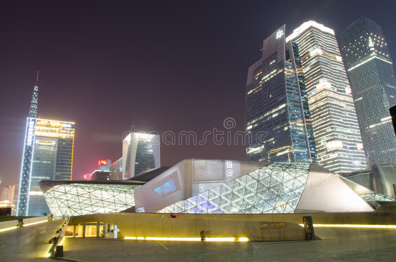 Guangzhou grand theatre royalty free stock photography