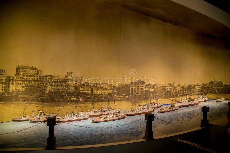 Guangzhou Guangdong landskap, storslagen marskalk Kina berömd för turist- dragningar arkivbilder