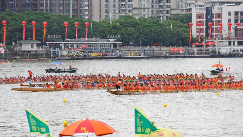 2015 Guangzhou International Dragon Boat Race 1 royalty free stock image