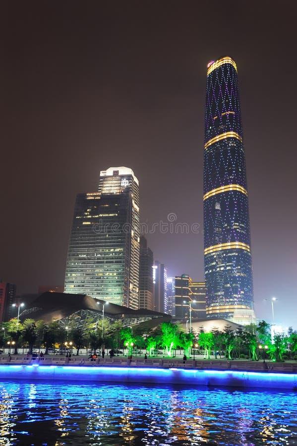 The Guangzhou International Finance Center (GZIFC) Editorial Stock Image