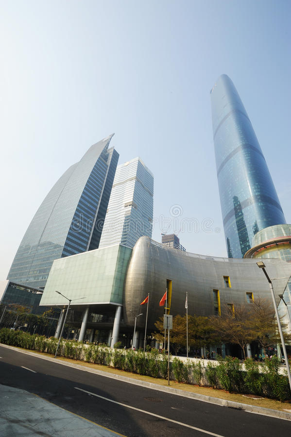 Download The Guangzhou International Finance Center (GZIFC) Editorial Stock Image - Image: 24667889