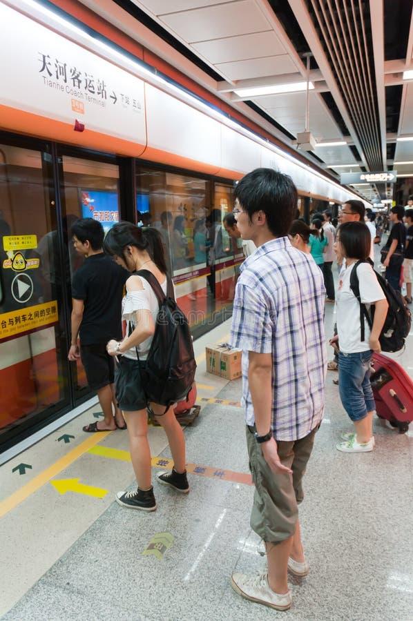 Download Guangzhou Metro editorial image. Image of moving, approaching - 20616545