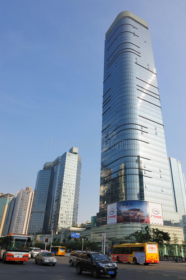 guangzhou miastowy krajobrazowy obrazy royalty free