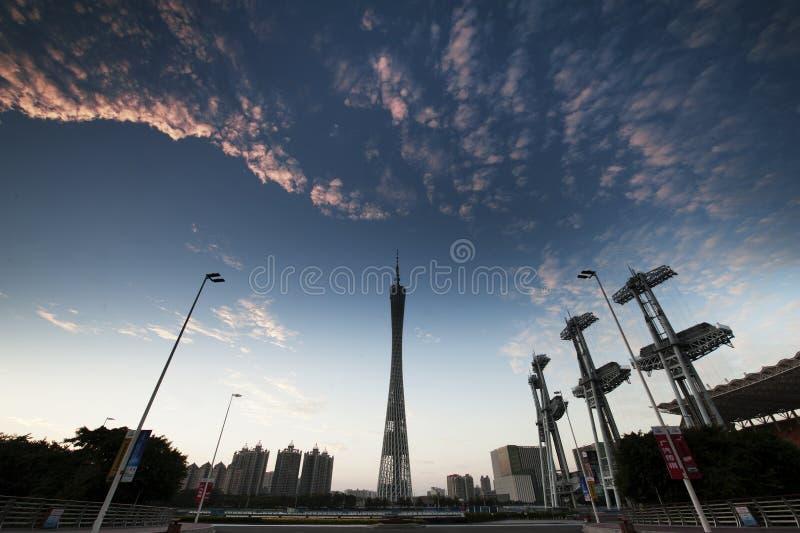 Guangzhou morgon arkivfoton
