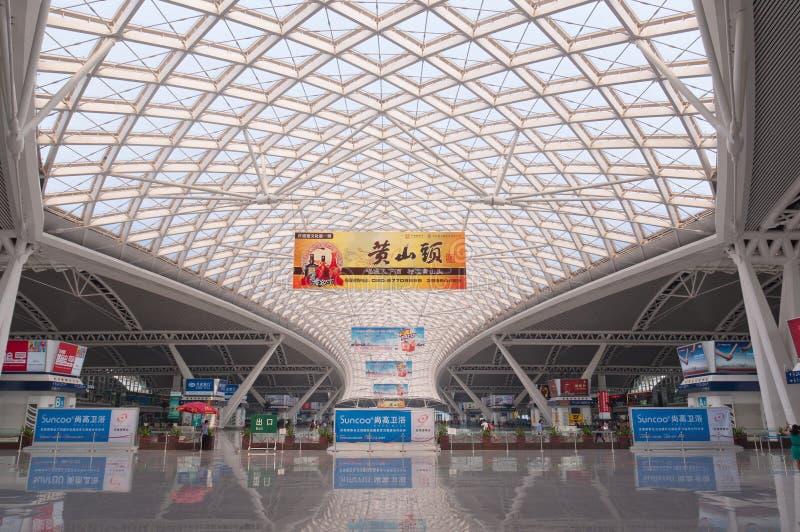 Download Guangzhou Nan Järnvägstation Redaktionell Fotografering för Bildbyråer - Bild av plattform, transport: 27276829