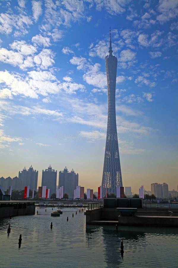 guangzhou ny torntv arkivbild