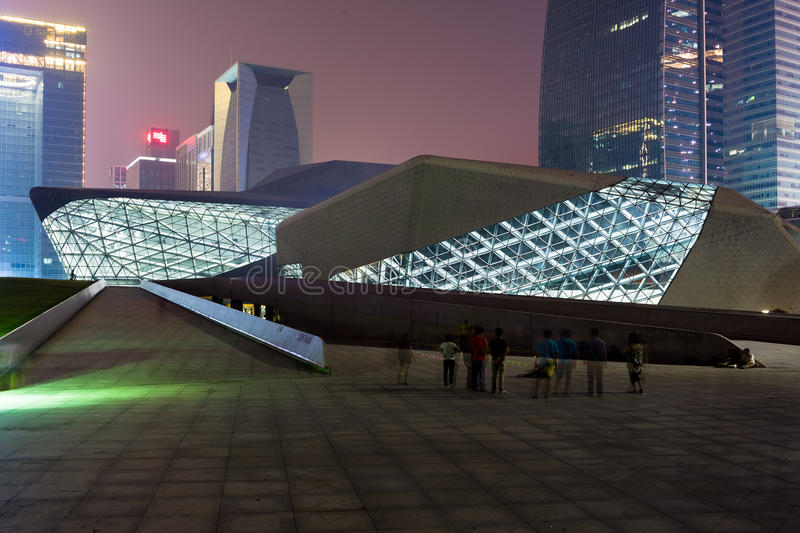 Download Guangzhou Opera House editorial image. Image of casual - 26989955