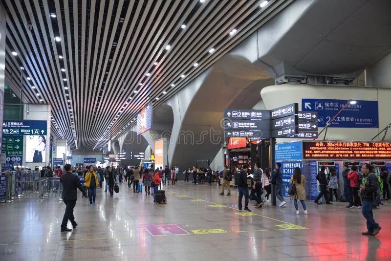 Guangzhou południe stacja kolejowa obraz royalty free