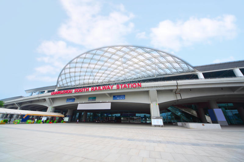 Download Guangzhou South Railway Station Editorial Photography - Image: 28023352