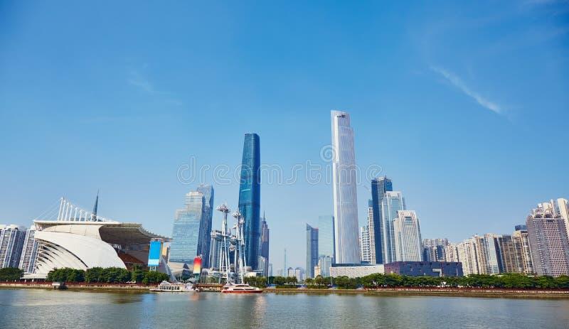 Guangzhou stad royaltyfria bilder