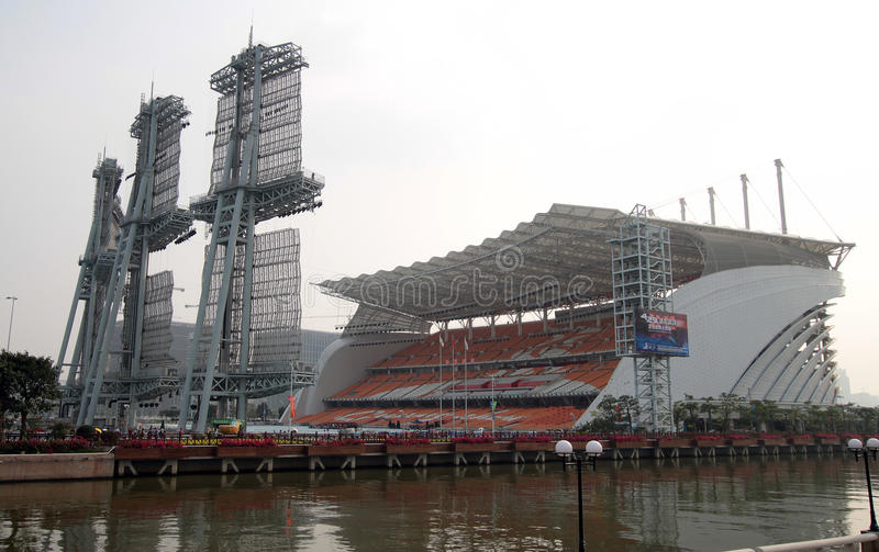 guangzhou stadium fotografia stock
