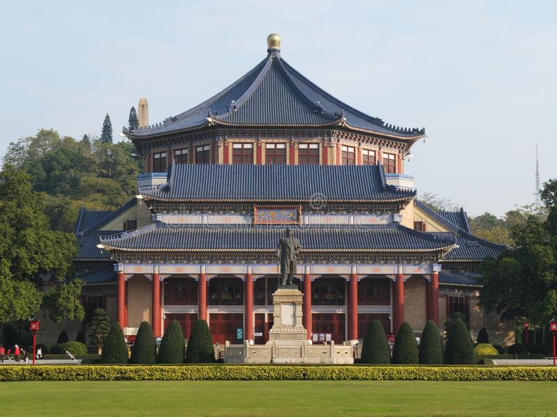 Guangzhou Sun Yat-sen Memorial Hall photos libres de droits