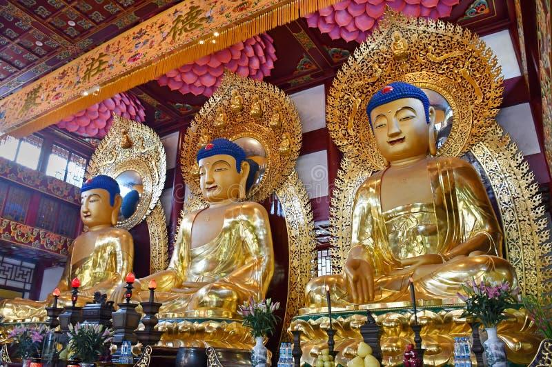 Guangzhou - Temple of The Six Banyan Trees fotografia de stock royalty free
