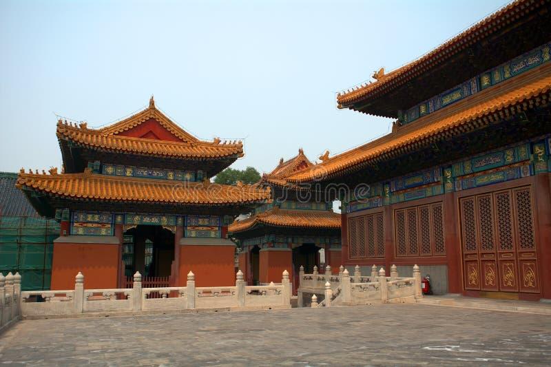 Guanjintempel, Peking, China stock fotografie
