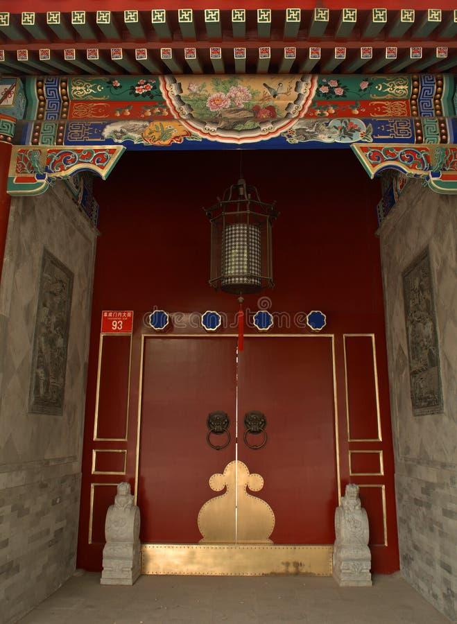 Guanjintempel, Peking, China royalty-vrije stock foto
