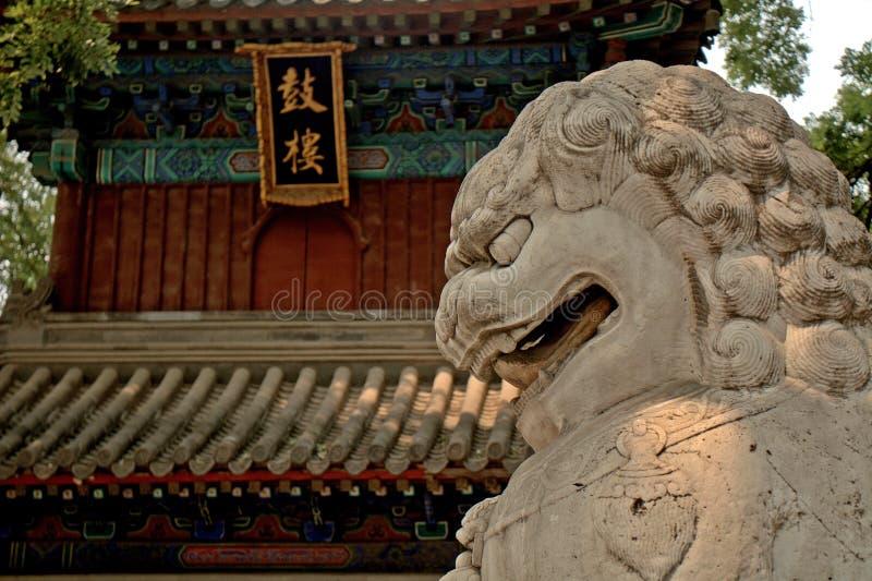 Guanjintempel, Peking, China royalty-vrije stock foto's