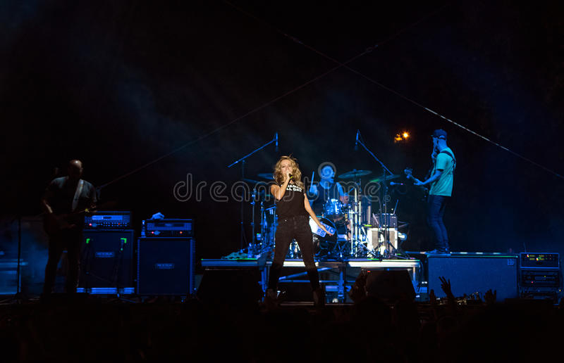 Guano Apes Concert stock image