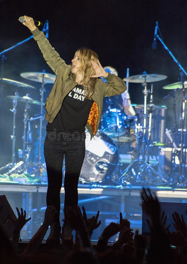 Guano Apes Concert royalty free stock photography