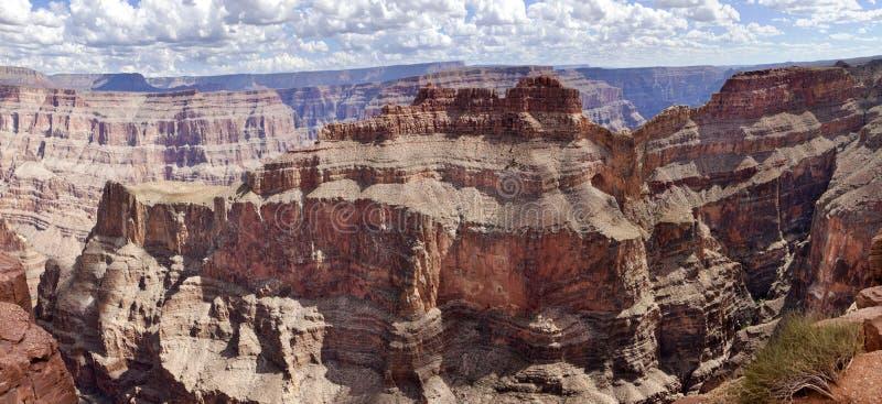 Guanopunkt - Grand Canyon (den västra kanten) fotografering för bildbyråer