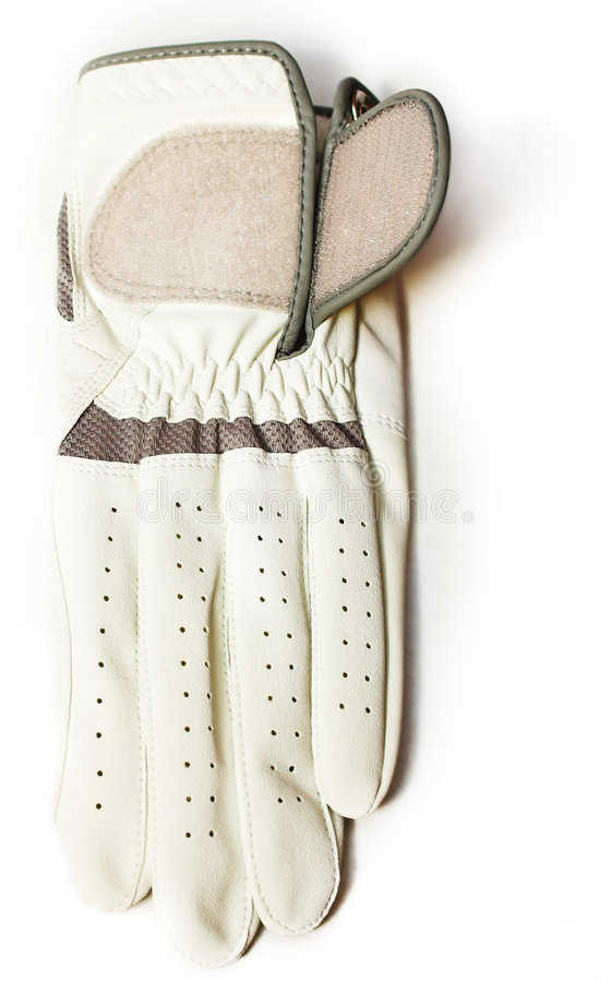 Guante de golf imagen de archivo