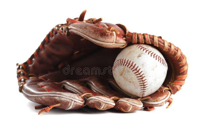 Guanto di baseball immagine stock