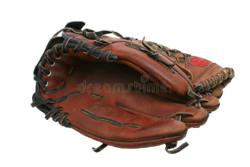 Guanto di baseball fotografie stock