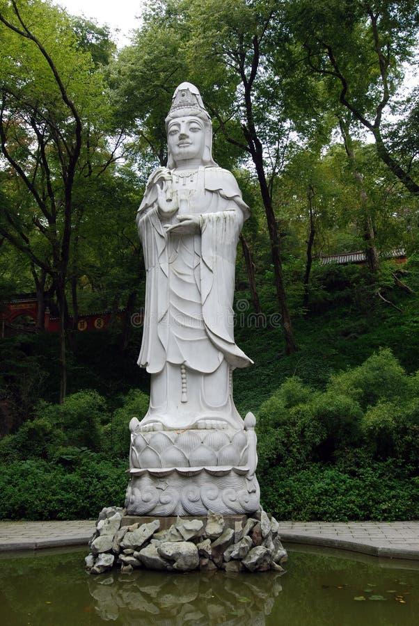 guanyin τεράστιο άγαλμα στοκ φωτογραφίες με δικαίωμα ελεύθερης χρήσης