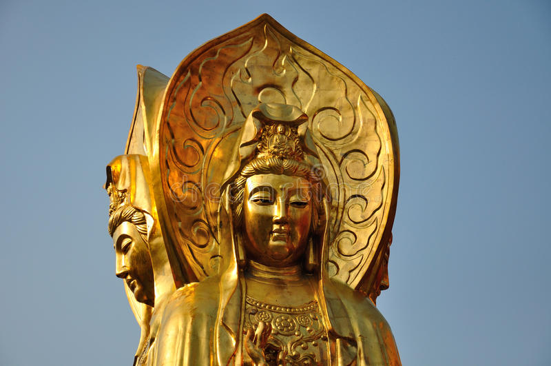 Guanyin Buddha Statue stock photos
