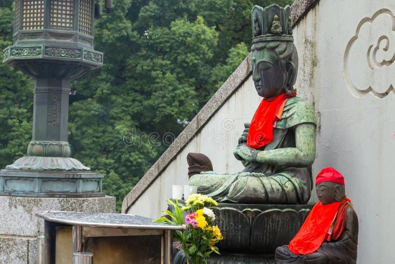 Guanyin (Chińska bogini) atOsu Kannon świątynia w Nagoya obrazy stock