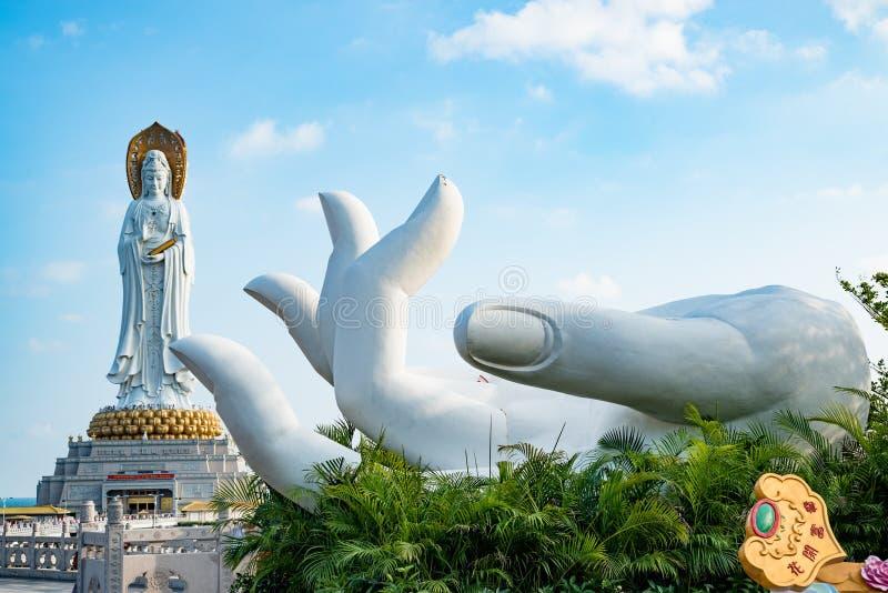 Guanyin chiny południowi morze fotografia royalty free