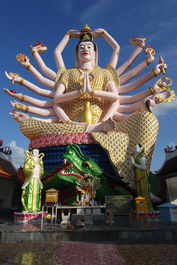 Guanyin statue stock images