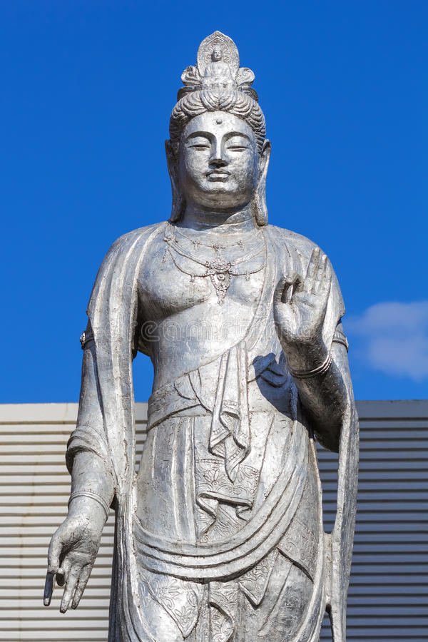Download Guanyin Statue At Hiroshima Central Park Stock Photo - Image: 36152696