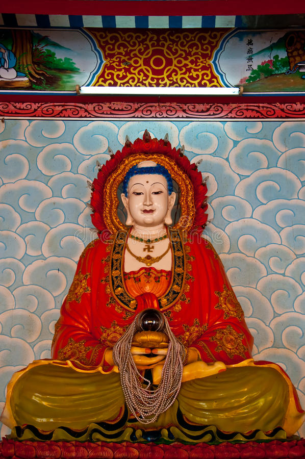 The Guanyin status stock images