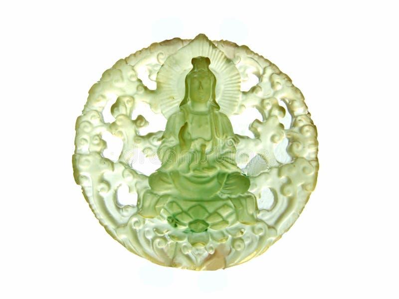 guanyinjade royaltyfri fotografi
