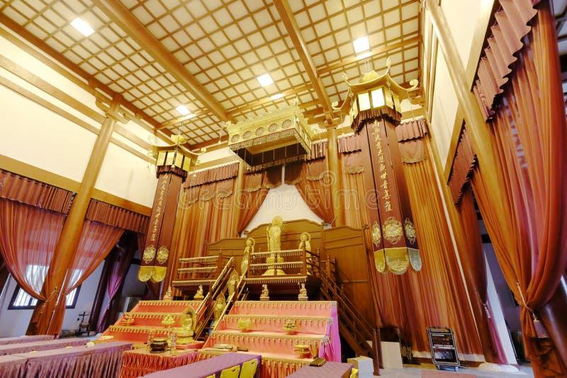 Guanyinpaleis van de putuoshan universiteit van Boedha, rgb adobe stock afbeeldingen