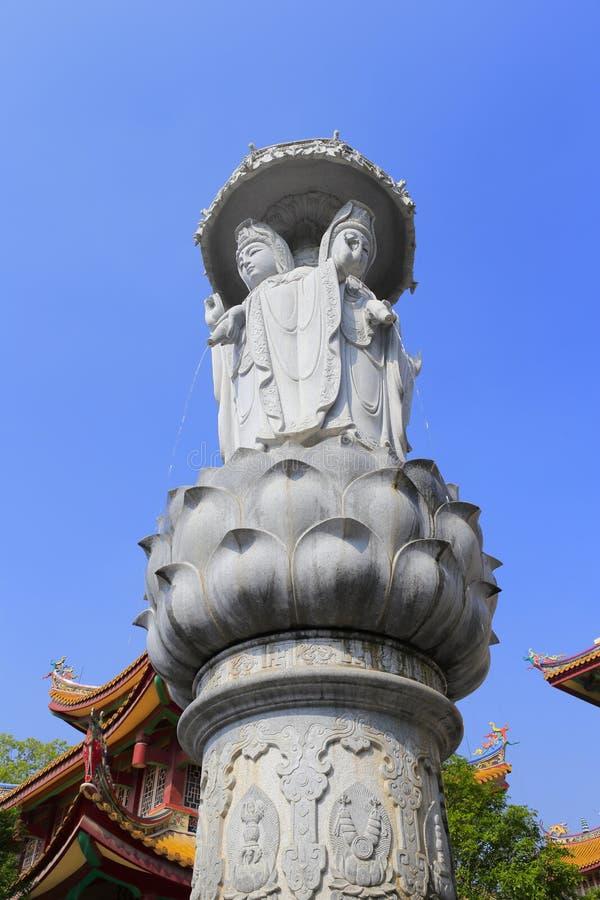 Guanyinstandbeeld stock afbeelding
