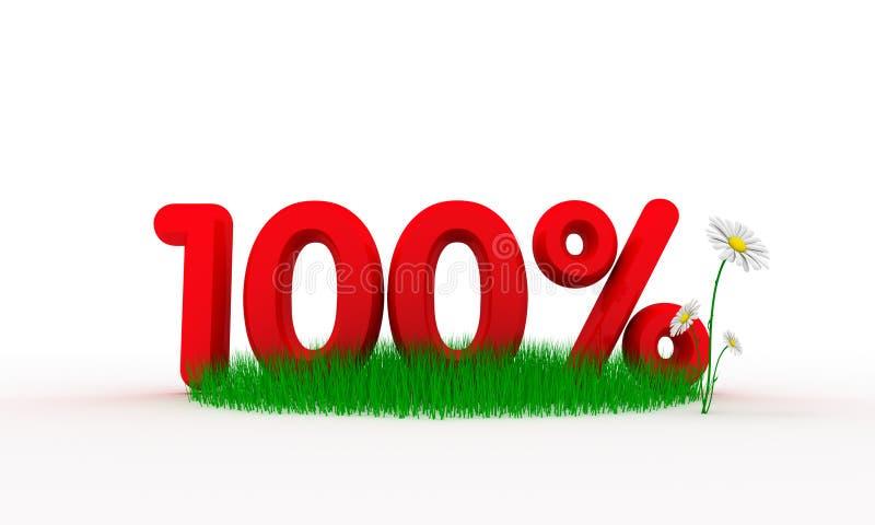 guarantee hundra procent vektor illustrationer