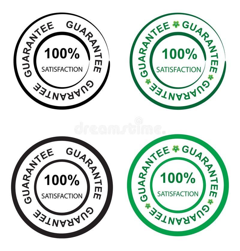 Guarantee seal vector illustration