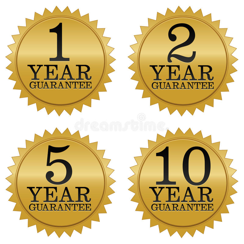 Free Guarantee Seals Stock Image - 17543941