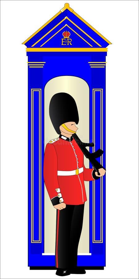 Download Guard Duty stock illustration. Illustration of guard - 52313344