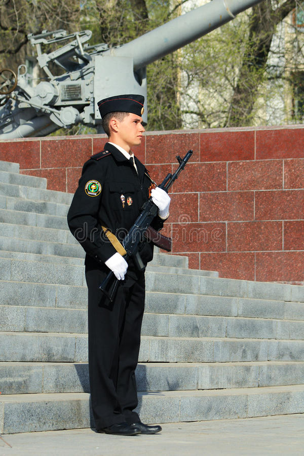 Guard of honor stock photography