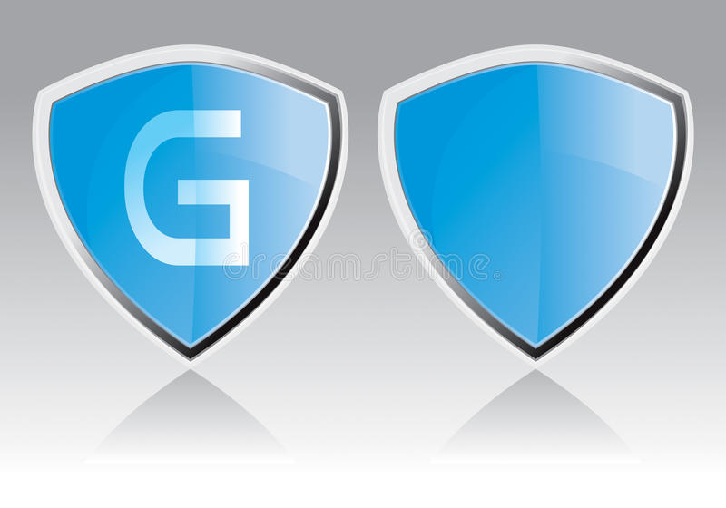 Download Guard Icon stock vector. Illustration of reflexion, safe - 13046453