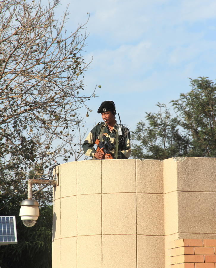 Indian Soldier. royalty free stock photo