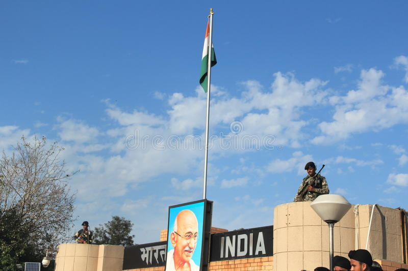 Indian Soldier-1. stock photography