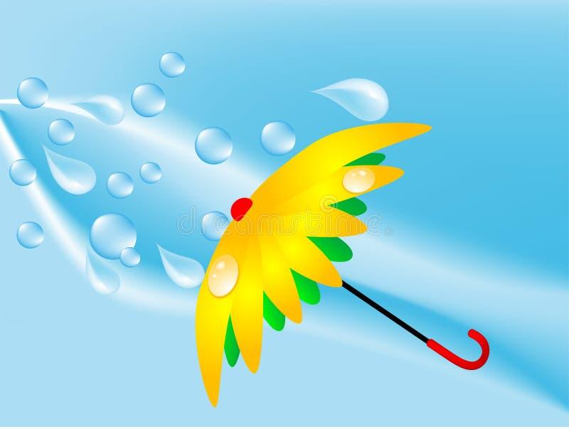 Guarda-chuva ilustração do vetor