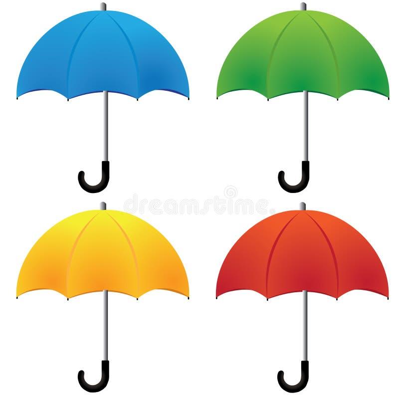 Guarda-chuva ilustração stock